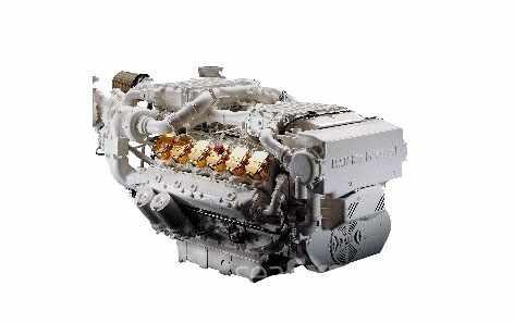 Силовая установка судна «Валдай 45Р»