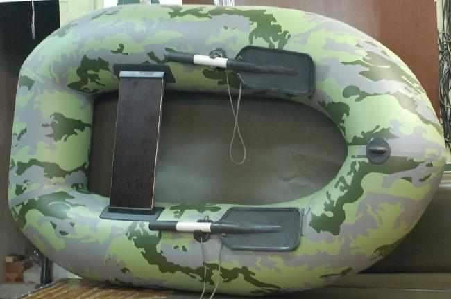 Конструкция надувной лодки «Pallada 180»