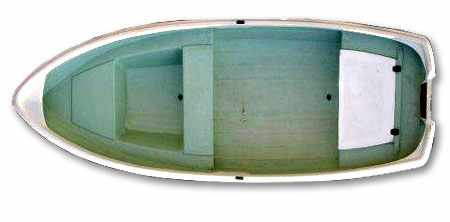 Компоновка лодки «Онего 375»