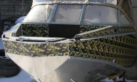 Нос лодки Vortex 510