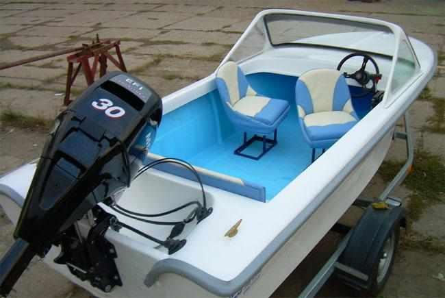 Компоновка лодки «Арктур 430»