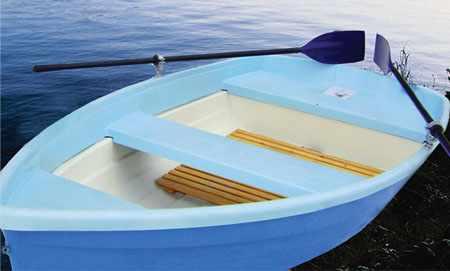 Компоновка лодки «Двина 2»