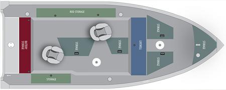 Лодка «Alumacraft Escape 165 Tiller»