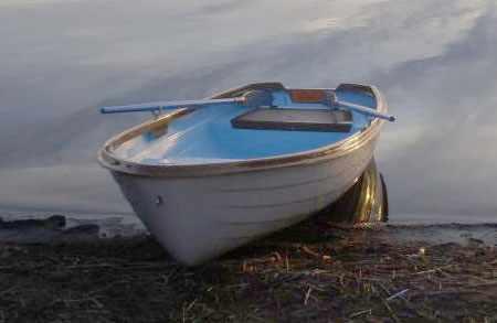 Лодка «Онего 375» на воде