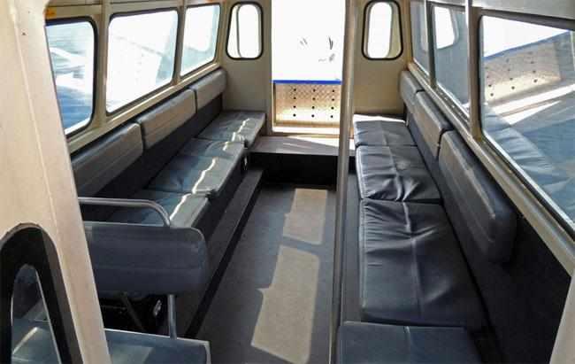 Каюта лодки «Самара 820 Т»