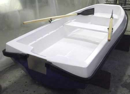 Компоновка лодки «Стелс 270»