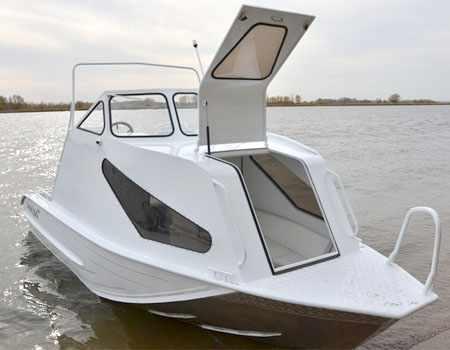 Каютный вариант лодки Рекорд 600
