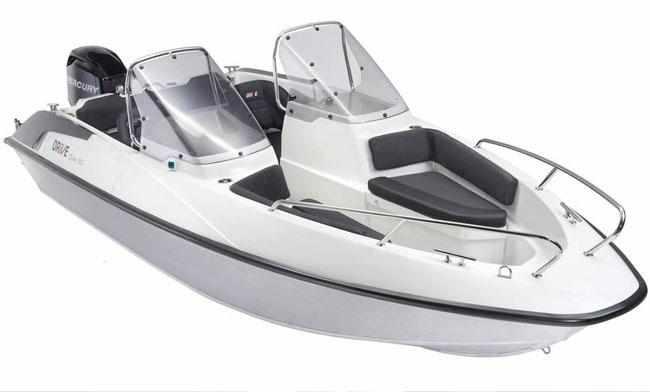 Компоновка лодки «Drive Open 50»