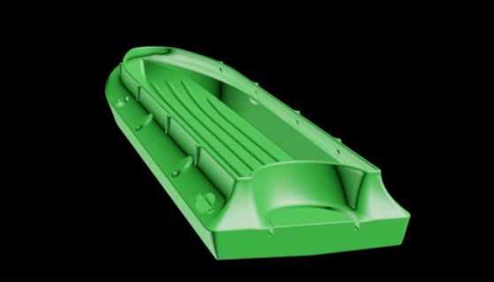 Корпус лодки Спецназ