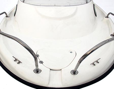 Палуба катера Одиссей 530