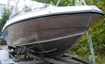 Днище лодки «Master 521»