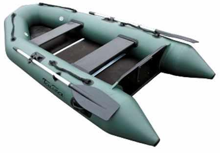 Конструкция надувной лодки «Тайга Т-290»