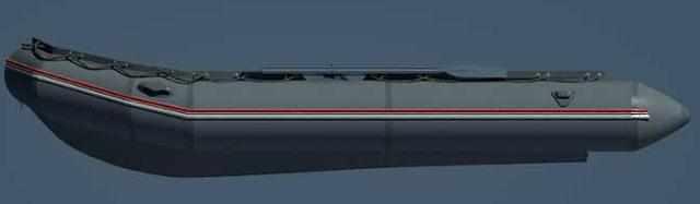 Линия борта лодки «Фаворит F-500»