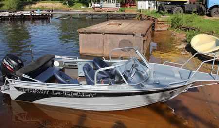 Компоновка лодки «Беркут L-Jacket»