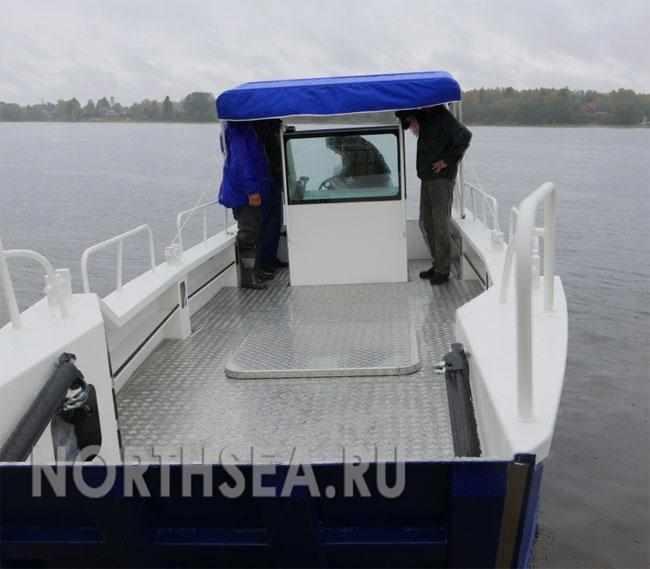 Компоновка катера БП - 690А