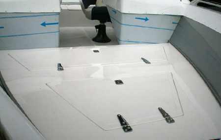 Носовая палуба лодки «UMS 520»