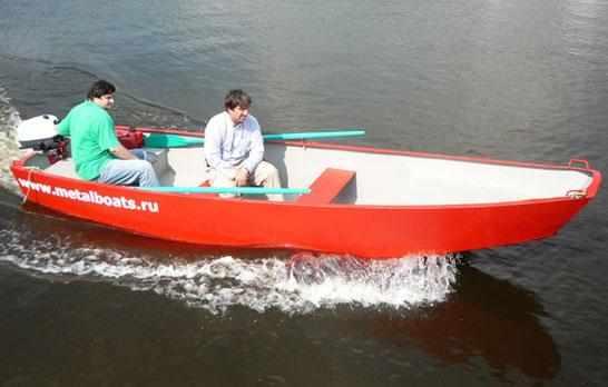 Компоновка лодки «Iron Boat 490»