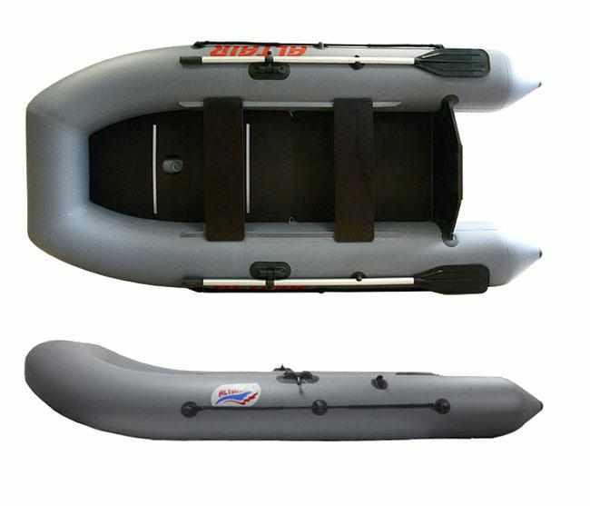 Конструкция надувной лодки «Alfa 320»