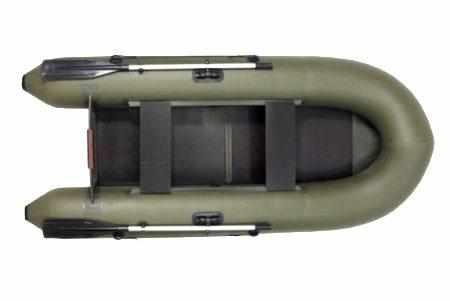 Конструкция надувной ПВХ лодки «Удача 2800»