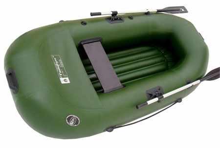 Лодка с надувным дном низкого давления