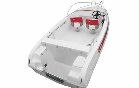 Компоновка моторной лодки «Laker V 450»