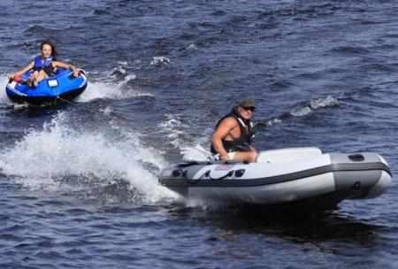 Надувная лодка «Касатка 385 Sport»