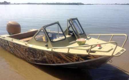 Вариант лодки «RusBoat 45» 2010 года выпуска