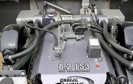 6-литровый двигатель Kodiak Marine