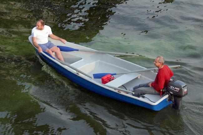 Компоновка лодки «Волга»
