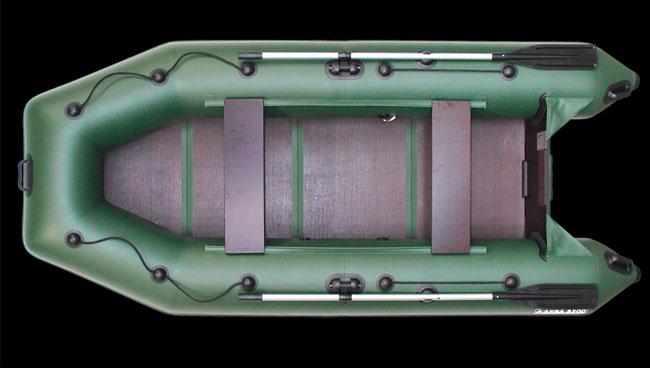 Компоновка лодки «Аква 3200 С»