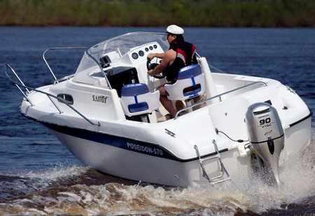 Компоновка катера Bester 570