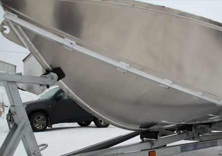 Днище лодки ЛКМ 510