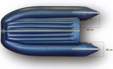 Днище надувной лодки «Флагман 280»