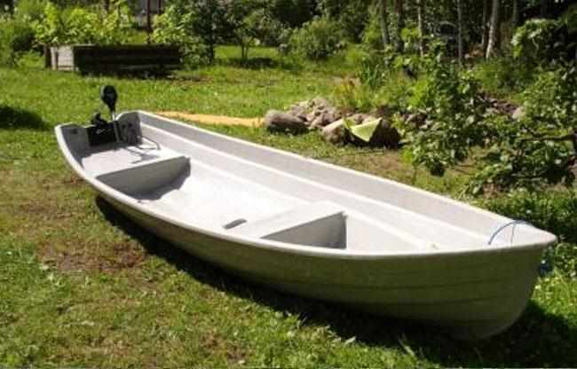 Компоновка лодки «Онего 420»