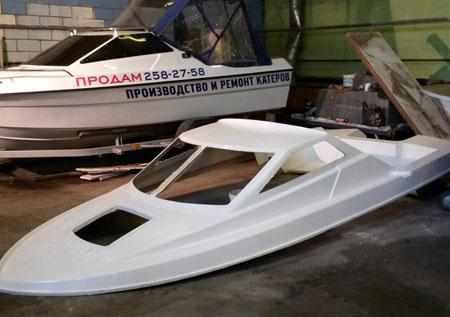Верхняя секция лодки «Катрин»