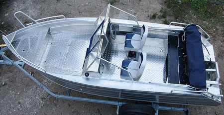 Компоновка лодки «Аллюр 45»
