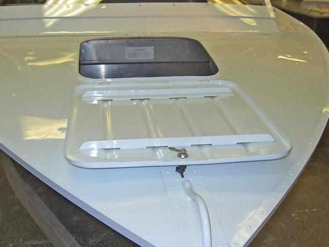 Носовой рундук лодки «Томь 475»