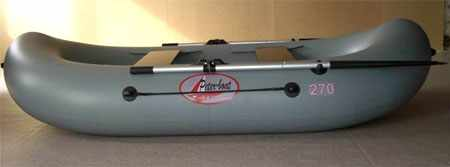Конструкция надувной лодки «Питер-Бот Л270»