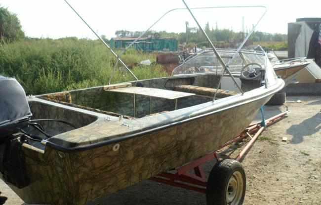 Компоновка лодки «Темп 475»