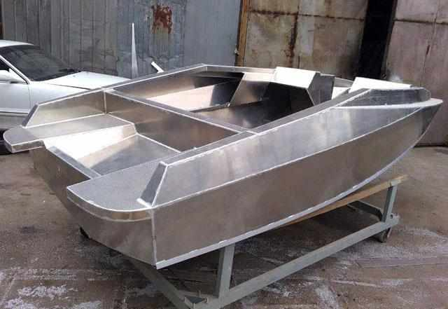 Корпус в металле лодки «Vortex 470»