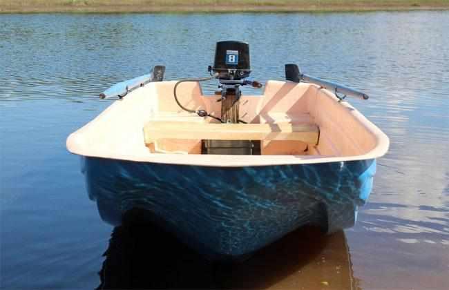 Обводы лодки «Альтан 36» типа Скат