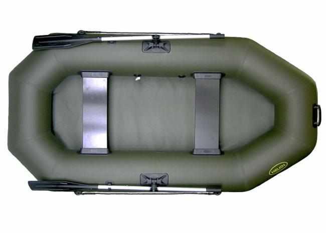 Компоновка надувной лодки «Гелиос 25»