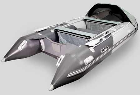 Компоновка надувной лодки «Gladiator D330»