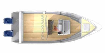 Моторная лодка «Охта 21 BCC»