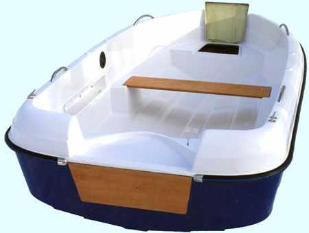 Компоновка лодки Легант 400