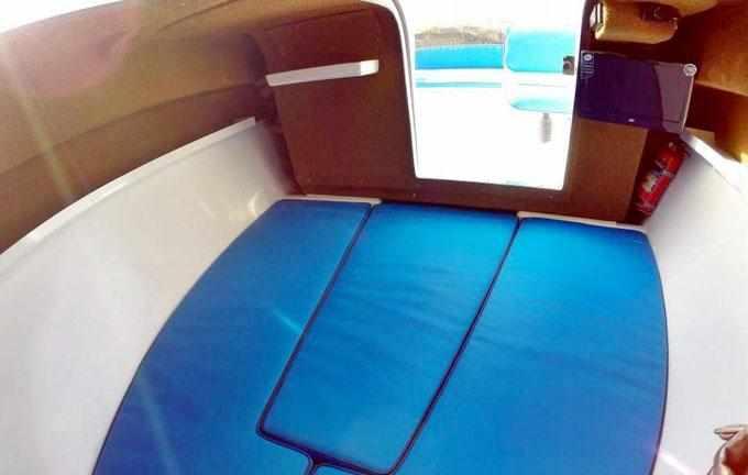 Каюта катера «Vigor 620»