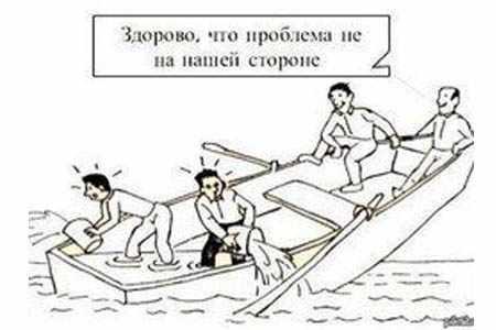 Вода в лодке без помпы