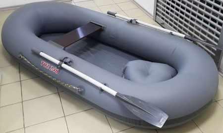 Конструкция надувной лодки «Tuz 240»