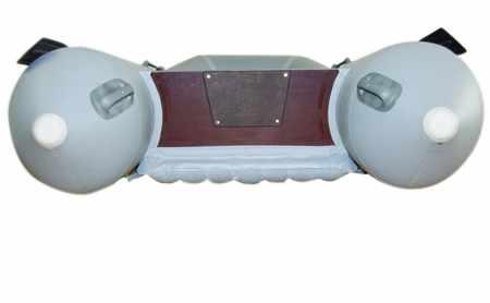 Профиль днища надувной лодки Братан 340