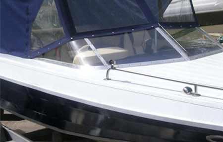 Ветровое стекло катера Николь Фортуна